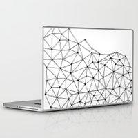 polygon Laptop & iPad Skins featuring Polygon by Boneva