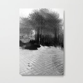 """""""He who sleeps in continual noise is wakened by silence."""" – William Dean Howells Metal Print"""