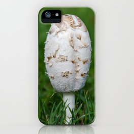 Shaggy ink cap iPhone Case