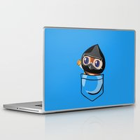 warcraft Laptop & iPad Skins featuring Ninja Pepe! by SlothgirlArt