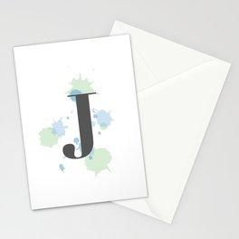 J Stationery Cards