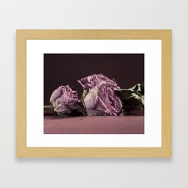 Age is Beauty Framed Art Print