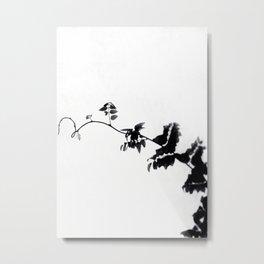 Twisty white sky Metal Print