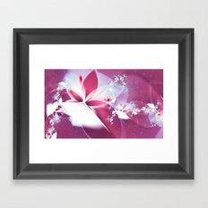 Flying Without Wings Framed Art Print