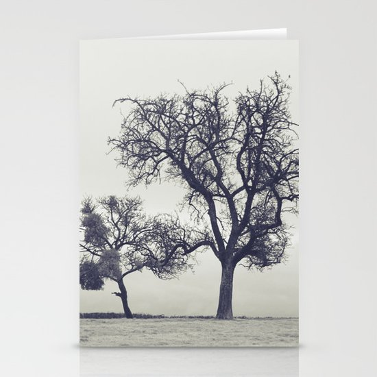 bleak trees... Stationery Cards