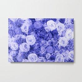 bouquet ver.ultramarine Metal Print
