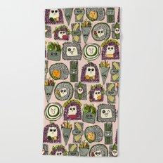 veggie sushi melba Beach Towel