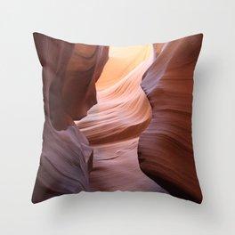 Amazing Antelope Canyon Throw Pillow
