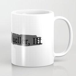 Mueller Report Coffee Mug
