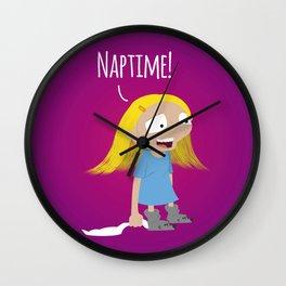 Naptime! Wall Clock