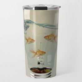 ideas and goldfish 03 Travel Mug
