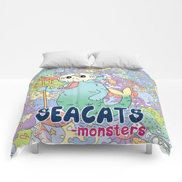 Seacats Monsters Series Comforters