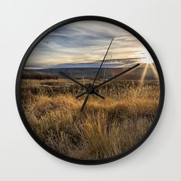Late Afternoon on Malheur Wall Clock