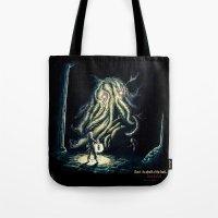 berserk Tote Bags featuring Dark by TheMagicWarrior