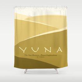 Planet Exploration: Yuna Shower Curtain