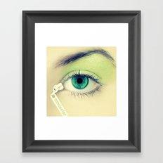 Concealer Framed Art Print