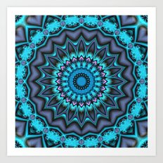 Mandala Time Art Print