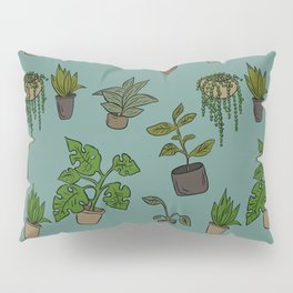 Indoor Plants Pillow Sham