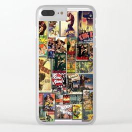 KONG HD by JC LOGAN 4 Simply Blessed Clear iPhone Case