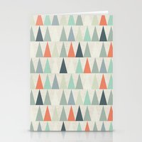 triangles Stationery Cards featuring Triangles by Dizzy Moments