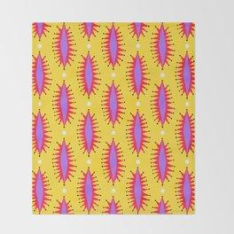 Cosmic Roar Pattern Throw Blanket