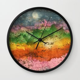Desert Bash Wall Clock
