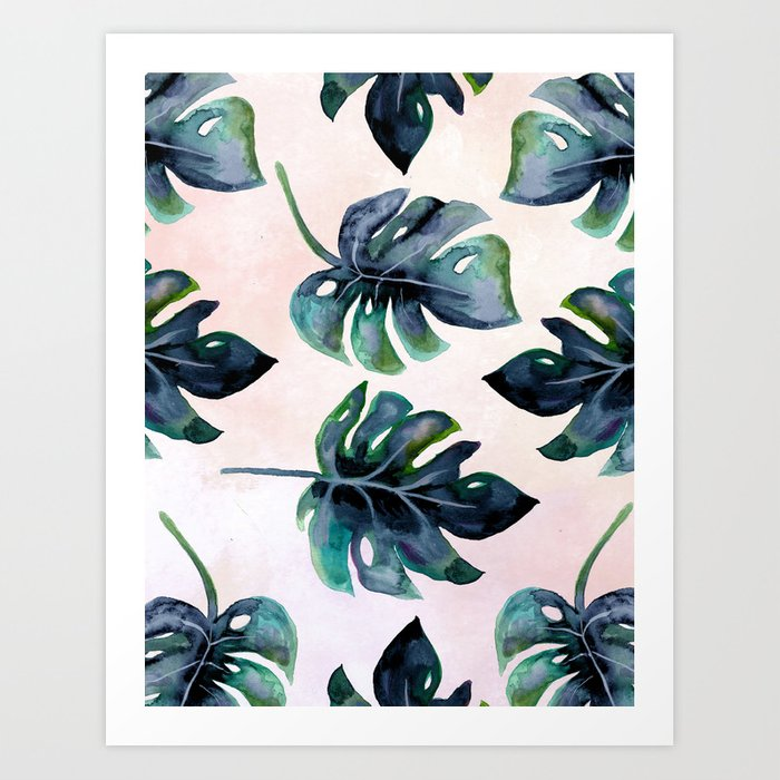 Split Leaf  Art Print
