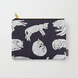 Sleeping Cats Carry-All Pouch