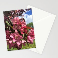 Crab Apple Blossoms Stationery Cards