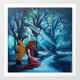 Enchanted world 1 Art Print