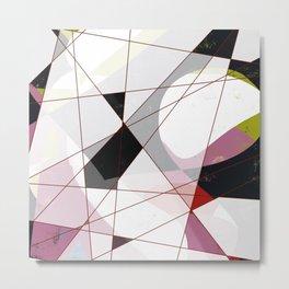 Newlook vol 2 - Abstract Throw Pillow / Wall Art / Home Decor Metal Print