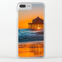 Copper Sands at Sunset Clear iPhone Case