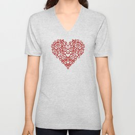 RED HEART Unisex V-Neck