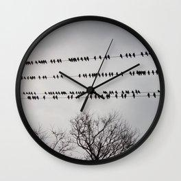 Starlings Wall Clock
