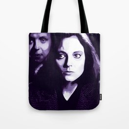 Jodie Foster Silence of the lambs Tote Bag