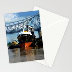 Moored Port Side Stationery Cards