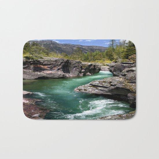A River Runs Through It Bath Mat