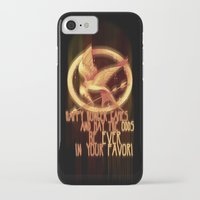 mockingjay iPhone & iPod Cases featuring Mockingjay by KanaHyde