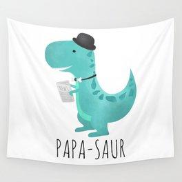 Papa-saur Wall Tapestry