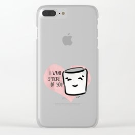 S'more of You Clear iPhone Case