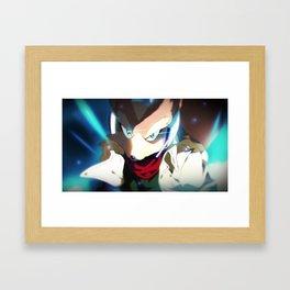 Melee Closeups   Fox Framed Art Print