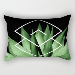 Agave geometrics III Rectangular Pillow
