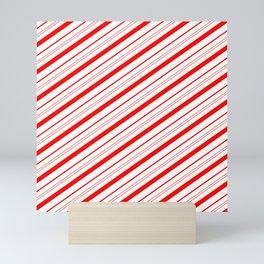 Candy Cane Stripes Mini Art Print