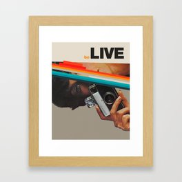 beLive Framed Art Print