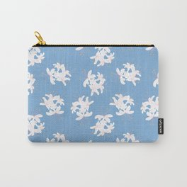 Honeysuckle Bouquet in Carolina Blue Carry-All Pouch