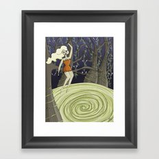 In the Forest of the Blood Nymphs Framed Art Print