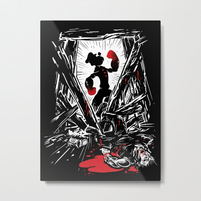 Eat Your Spinach! Metal Print