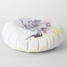 The Odds Floor Pillow