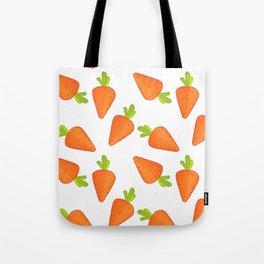 carrot pattern Tote Bag