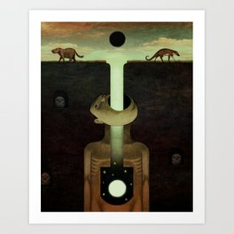 Creation Myth Art Print